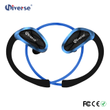 Шум отменяя наушники шлемофона Earbud пригодности Bluetooth спорта радиотелеграфа Ipx 4