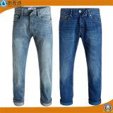 OEMの人の基本的なデニムのジーンズのブルー・ジーンズの綿のズボンのジーンズ