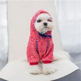 Roupa de uma peça só do algodão da peluche do outono da mola do cão de animal de estimação