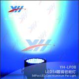 1개의 섞는 무대 효과 DJ 디스코 당 동위에 대하여 54*3W RGB 3은 LED 빛 할 수 있다