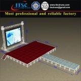 Aluminiumlaufbahn-Stadium und Hintergrund-Binder-System