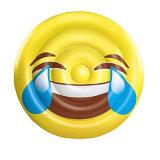 160cm gelbe Farbe Belüftung-aufblasbarer Lächeln-Gesichts-Pool-Gleitbetrieb