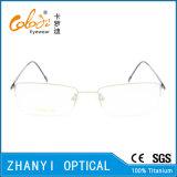 Рамка просто Semi-Rimless Titanium стекел Eyeglass Eyewear оптически (8503)