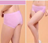 Anti-bacteriana Nylon perfecta ropa interior con fibra de plata para las mujeres