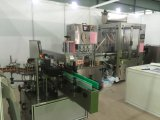 Máquina de etiquetas Multifunction automática do Dobro-Lado com servo motor