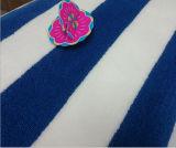 Usine 100% estampée molle promotionnelle faite sur commande d'essuie-main de plage de Ttotton