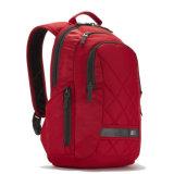 Unisex универсальный Backpack компьтер-книжки с задней частью нежности в красном цвете и черноте