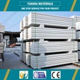 El panel de pared exterior neto de acero prefabricado peso ligero del doble del panel de AAC/de Alc