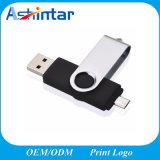 USB plástico Pendrive del teléfono del mecanismo impulsor OTG del flash del USB