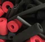 Funda de protección de seguridad de tubo relleno de tubo protector acolchado de tuberías