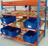 Resbalar el cartón Fluir-Por el estante para el almacenaje dinámico