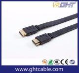 1.4V/2.0V 1080P (F016)를 위한 고품질 편평한 HDMI 케이블