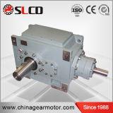 Kleber-Förderanlagen-Hochleistungsgetriebe der rechtwinkligen Welle-B3-8 schraubenartiges abgeschrägtes