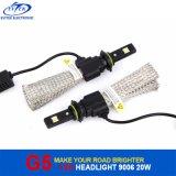 Bulbos 6500k do farol do diodo emissor de luz do carro da lâmpada G5 do diodo emissor de luz de Fanless 20W 2600lm auto