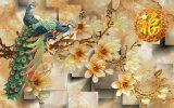 Azulejos de suelo esmaltados pulidos nuevo diseño de la porcelana 3D (VPA6A115)