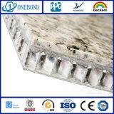 Панель смеси сота строительного материала каменная алюминиевая