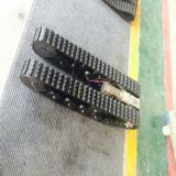 ゴムはロボットシャーシ/ロボット下部構造を追跡した
