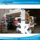 6 Type van Stapel van Flexo van de Machine van de Druk van het Broodje van het Broodje van het Document van de kleur het Plastic