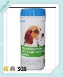 25count Lingettes Pet Can antibactérienne l'odorat Retrait Pet Wipe