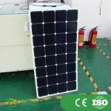 painel Semi flexível solar flexível do painel de 100W Sunpower