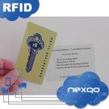 Niedrige Kosten Cmyk vier klassisches 1K RFID Hotel-Schlüsselkarte des Farben-Drucken-MIFARE