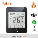 Thermostat intelligent de pièce de WiFi de bobine de ventilateur avec l'IOS/$$etAPP androïde à télécommande