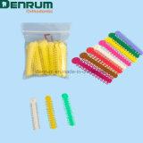 Denrumのよい伸縮性の歯科矯正学のエラストマーLigatureのタイ