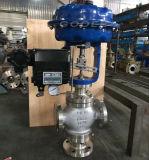 Tipo de desvio 3-Way pneumático válvula de regulamento do fluxo (ZDLX)