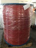 Revestido de nylon con el alambre de acero