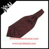 Lenço tecido jacquard da seda da forma 100% do Mens