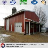 Armazém/oficina de aço galvanizados do edifício da qualidade/vertido