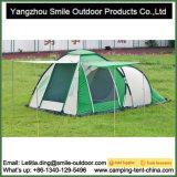 Abrir a barraca de acampamento Rainproof da pessoa da camada dobro 3-4 do telhado