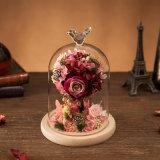 La promoción preservó la flor para el regalo de la decoración