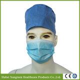 Maschera di protezione non tessuta chirurgica blu con il Orecchio-Ciclo