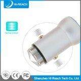 Aluminiumlegierung 2.1A bewegliche USB-Auto-Adapter-Aufladeeinheit