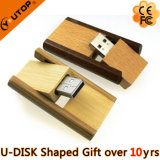 Atacado Gift Bulk Wooden Bamboo Credit Card USB Flash Drive