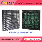 HD que anuncia o indicador da tela Outdoor/LED do diodo emissor de luz do estágio P6 ao ar livre