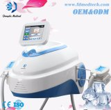 Grosse machine portative de Cryolipolysis de gel portatif de gestion du poids