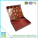 Contenitori di regalo lucidi di natale del commercio all'ingrosso di stampa con chiusura magnetica