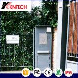 Téléphone d'épreuve de rouille d'acier inoxydable d'intercom d'ascenseur du téléphone Emergency Knzd-06 Kntech