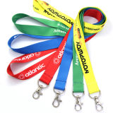 Venda por atacado Custom Printing Strap Fashion Polyester Neck Lanyard