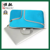 Wasserdichte Reißverschluss Kundenspezifische Neopren-Laptop-Tasche mit Griffen