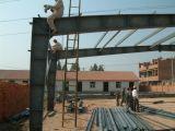 Il workshop d'acciaio industriale/ha prefabbricato il workshop d'acciaio