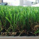 V дерновина травы конструкции лезвия искусственная с возникновением Deluster