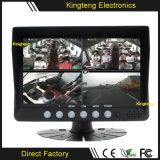 7inch o quadrilátero 4CH Waterproof o monitor Kt-620 da tela do carro TFT LCD