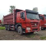 HOWO 덤프 트럭의 사용된 LHD 6*4 HOWO 덤프 트럭