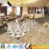 azulejos de suelo Polished llenos esmaltados de mármol de la porcelana 600X600 (664501)