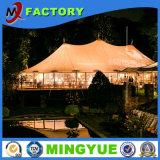 Tienda al aire libre de lujo del banquete de boda de la tienda del acontecimiento del tejado de la tela del PVC