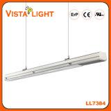 Extrusión de aluminio 130lm / W 3700-6500k LED de luz lineal para el supermercado