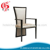 Restaurante con clase del café del hotel que cena la silla